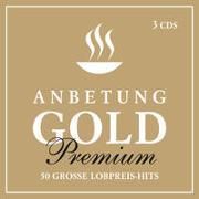 Cover-Bild zu 3-CD-Box Anbetung Gold Premium von Adams-Frey, Andrea (Sänger)