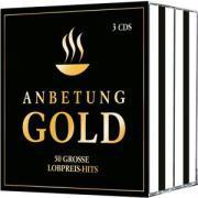 Cover-Bild zu 3-CD-Box Anbetung Gold von Adams-Frey, Andrea (Sänger)