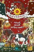 Cover-Bild zu Die Haferhorde - Advent, Advent, ein Pony rennt!