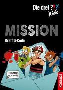 Cover-Bild zu Die drei ??? Kids, Mission Graffiti-Code