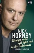Cover-Bild zu Weniger reden und öfter mal in die Badewanne (eBook) von Hornby, Nick