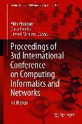 Cover-Bild zu Proceedings of 3rd International Conference on Computing Informatics and Networks (eBook) von Castillo, Oscar (Hrsg.)