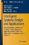 Cover-Bild zu Intelligent Systems Design and Applications (eBook) von Melin, Patricia (Hrsg.)