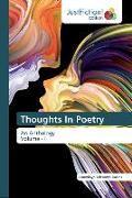 Cover-Bild zu Thoughts In Poetry von Adesanya-Davies, Funmilayo