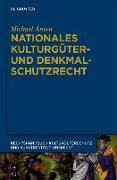 Cover-Bild zu Anton, M: Nationales Kulturgüter- und Denkmalschutzrecht 4 (eBook)