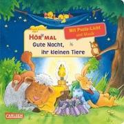Cover-Bild zu Hör mal (Soundbuch): Mach mit - Pust aus: Gute Nacht, ihr kleinen Tiere - ab 2 Jahren von Schuld, Kerstin M.