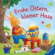 Cover-Bild zu Frohe Ostern, kleiner Hase von Grimm, Sandra