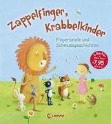 Cover-Bild zu Zappelfinger, Krabbelkinder von Grimm, Sandra