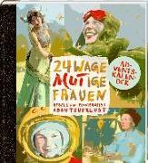 Cover-Bild zu Leesker, Christiane: Adventskalenderbuch zum Aufschneiden - 24 wageMutige Frauen