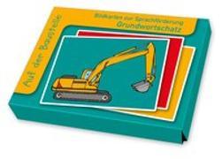 Cover-Bild zu Boretzki, Anja (Illustr.): Bildkarten zur Sprachförderung: Auf der Baustelle