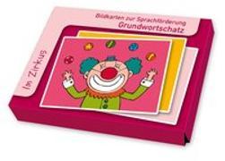 Cover-Bild zu Boretzki, Anja (Illustr.): Bildkarten zur Sprachförderung: Im Zirkus