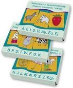 Cover-Bild zu Boretzki, Anja (Illustr.): PAKET Bildkarten zur Sprachförderung: Anlaute erkennen