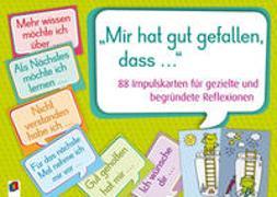 """Cover-Bild zu Redaktionsteam Verlag an d. Ruhr: """"Mir hat gut gefallen, dass ?"""""""