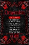 Cover-Bild zu Dragonkin Bundle Books 5-9 (eBook) von Aiken, G. A.