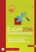 Cover-Bild zu Excel 2016 programmieren (eBook) von Kofler, Michael