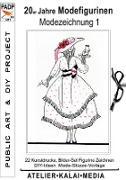 Cover-Bild zu Atelier-Kalai-Media, Bild-Kunst-Verlag (Hrsg.): 20er Jahre Modefigurinen : Modezeichnung 1