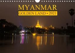 Cover-Bild zu Myanmar . Golden Land (Wall Calendar 2021 DIN A4 Landscape) von G. Zucht, Peter