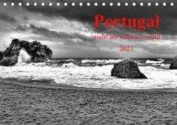 Cover-Bild zu Portugal . mehr als schwarz-weiß (Tischkalender 2021 DIN A5 quer) von G. Zucht, Peter
