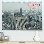 Cover-Bild zu Tokyo (Premium, hochwertiger DIN A2 Wandkalender 2021, Kunstdruck in Hochglanz) von G. Zucht, Peter