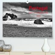 Cover-Bild zu Portugal . mehr als schwarz-weiß (Premium, hochwertiger DIN A2 Wandkalender 2022, Kunstdruck in Hochglanz) von G. Zucht, Peter