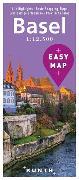 Cover-Bild zu KUNTH Verlag: EASY MAP Basel. 1:12'500