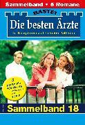Cover-Bild zu Die besten Ärzte 18 - Sammelband (eBook) von Kastell, Katrin