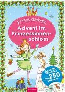 Cover-Bild zu Theissen, Petra (Illustr.): Erstes Stickern. Advent im Prinzessinnenschloss