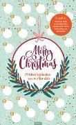 Cover-Bild zu Merry Christmas. 24 Adventsgedanken von mir für dich. Mit 24 Feldern zum Freirubbeln und Überraschen lassen