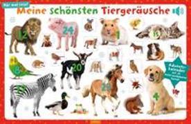 Cover-Bild zu Meine schönsten Tiergeräusche. Adventskalender mit 24 leicht auslösbaren Sounds