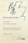 Cover-Bild zu Declarations on Freedom for Writers and Readers