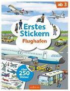 Cover-Bild zu Erstes Stickern Flughafen von Coenen, Sebastian (Illustr.)