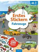 Cover-Bild zu Erstes Stickern Fahrzeuge von Coenen, Sebastian (Illustr.)