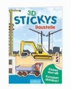 Cover-Bild zu 3D-Stickys Baustelle von Coenen, Sebastian (Illustr.)