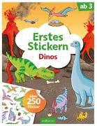 Cover-Bild zu Erstes Stickern Dinos von Coenen, Sebastian (Illustr.)