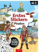 Cover-Bild zu Erstes Stickern Piraten von Coenen, Sebastian (Illustr.)