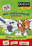 Cover-Bild zu Duden Leseprofi - Mal- und Lernspaß für Erstleser. Mitten im Zauberwald von Nahrgang, Frauke