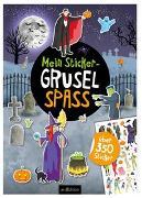 Cover-Bild zu Mein Sticker-Gruselspaß von Coenen, Sebastian (Illustr.)