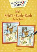 Cover-Bild zu Die verflixten Sieben - Mein Fehler-Such-Buch - Bei den Piraten von Coenen, Sebastian (Illustr.)