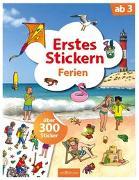 Cover-Bild zu Erstes Stickern Ferien von Coenen, Sebastian (Illustr.)
