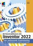 Cover-Bild zu Ridder, Detlef: 3D-Konstruktionen mit Autodesk Inventor 2022 (eBook)