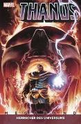 Cover-Bild zu Thanos Megaband von Cates, Donny
