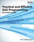 Cover-Bild zu Practical and Efficient SAS Programming (eBook) von Messineo, Martha
