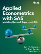 Cover-Bild zu Applied Econometrics with SAS (eBook) von Goodwin, Barry K.