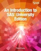 Cover-Bild zu An Introduction to SAS University Edition (eBook) von Cody, Ron