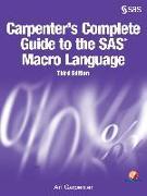 Cover-Bild zu Carpenter's Complete Guide to the SAS Macro Language, Third Edition (eBook) von Carpenter, Art