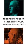 Cover-Bild zu Correspondence, 1939 - 1969 (eBook) von Adorno, Theodor W.