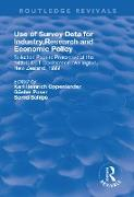 Cover-Bild zu Use of Survey Data for Industry, Research and Economic Policy: Selected Papers Presented at the 24th CIRET Conference, Wellington, New Zealand 1999 (eBook) von Oppenlander, Karl Heinrich (Hrsg.)