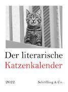 Cover-Bild zu Bachstein, Julia (Hrsg.): Der literarische Katzenkalender 2022