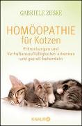 Cover-Bild zu Homöopathie für Katzen von Zuske, Gabriele