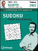 Cover-Bild zu Stefan Heine Sudoku mittel bis schwierig 2022 - Tagesabreißkalender -11,8x15,9 - Rätselkalender - Knobelkalender